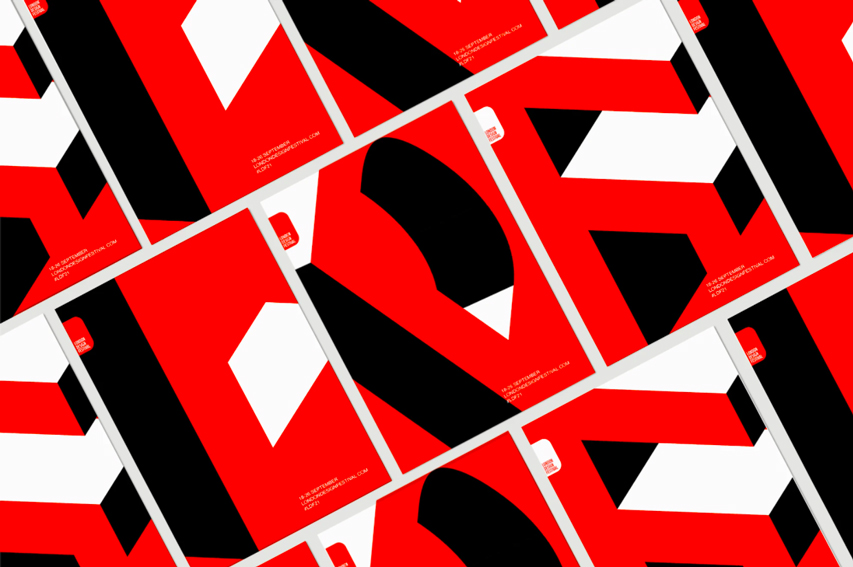 London Design Festival identity pattern