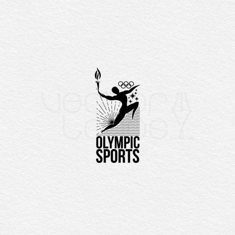 Olympic Sports logo black