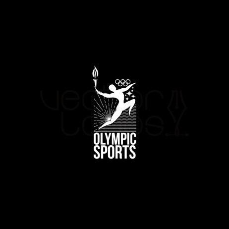 Olympic Sports logo white